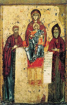 Икона Божией Матери Печерская-Свенская