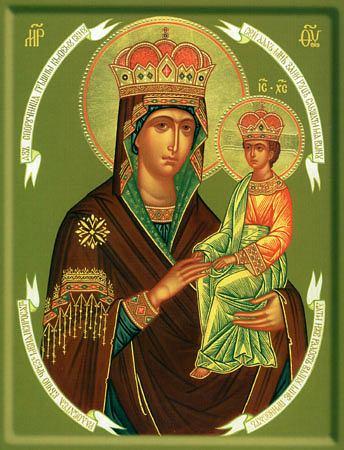 Икона Божией Матери ''Споручница грешных''