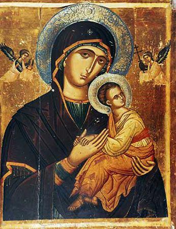 Икона Божией Матери ''Страстная''