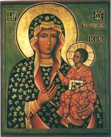 Икона Божией Матери Ченстоховская