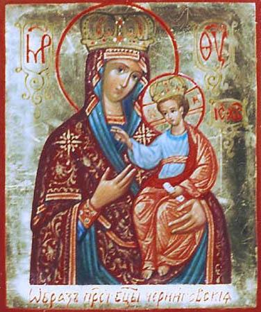 Икона Божией Матери Черниговская