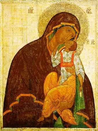 Икона Божией Матери Яхромская
