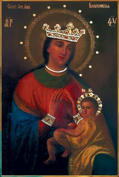 Чудотворная икона Божией Матери Балыкинская
