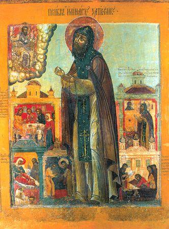 Прп. Иринарх, затворник Ростовский