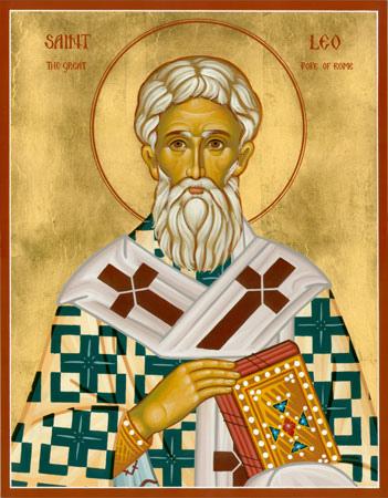 Свт. Лев, Папа Римский