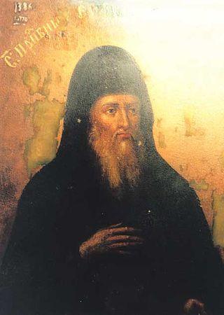 Прп. Евфимий, схимник Печерский