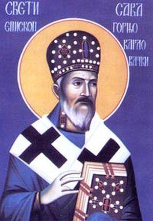Сщмч Савва, епископ Горно-Карловацкий