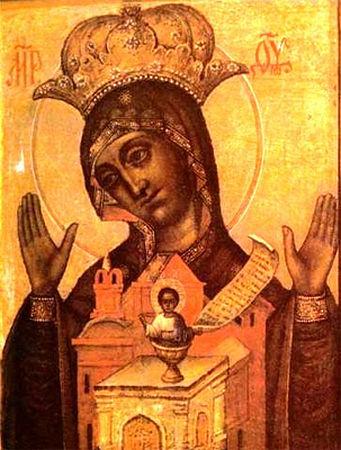 Никейская икона Божией Матери