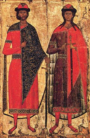 Мученики благоверные князья Борис и Глеб