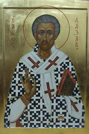 Святитель Лазарь Четверодневный, Китийский епископ