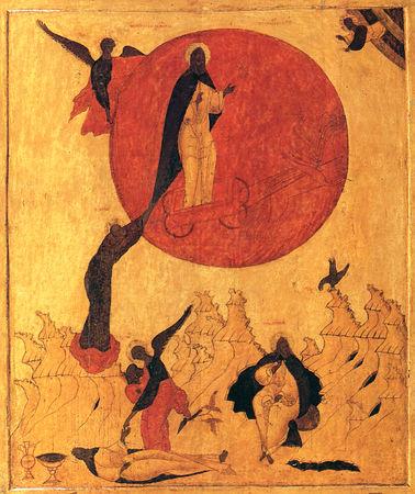 Огненное восхождение пророка Илии.