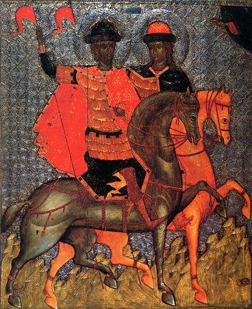 Мчч. блгвв. князья Борис и Глеба