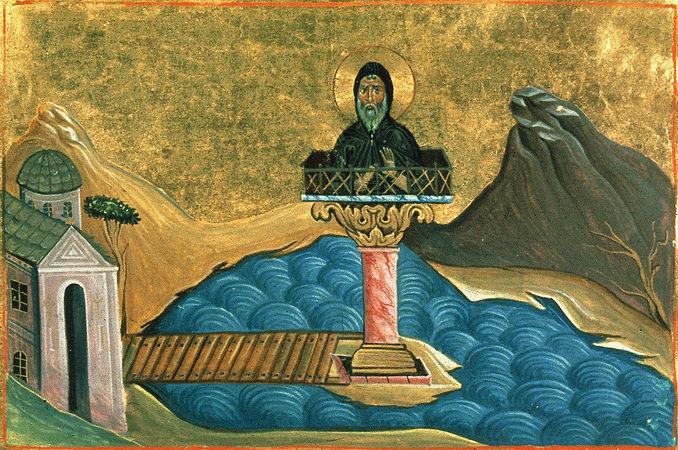 Преподобный Лука Столпник