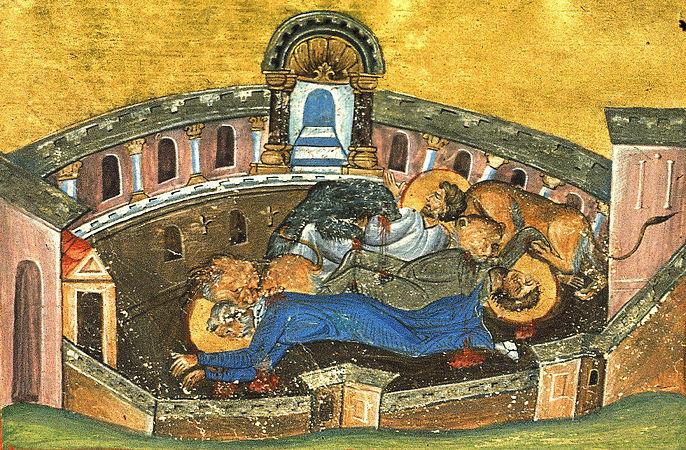 Священномученик Сильван, Лука диакон и Мокий чтец