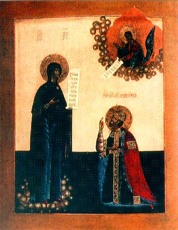 Явление Божией Матери князю Андрею Боголюбскому
