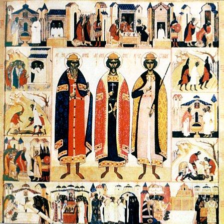Мученики Антоний, Иоанн и Евстафий Виленские