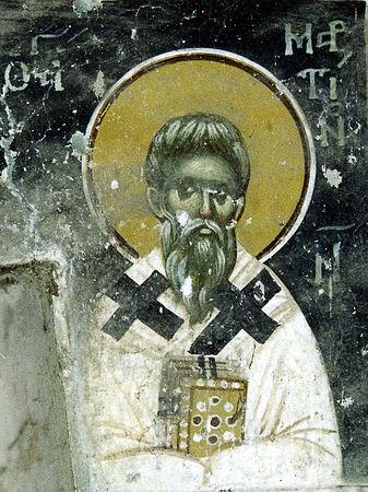 Святитель Мартин I Римский