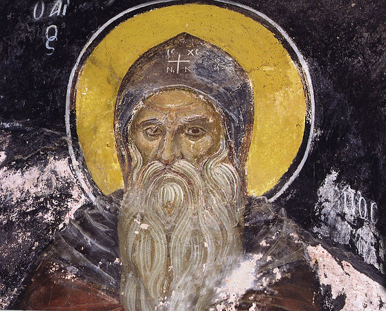 Преподобный Памва Нитрийский
