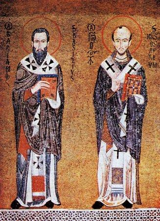 Василий Великий и Иоанн Златоуст