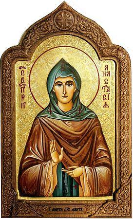 Преподобная Анастасия Патрикия, Александрийская