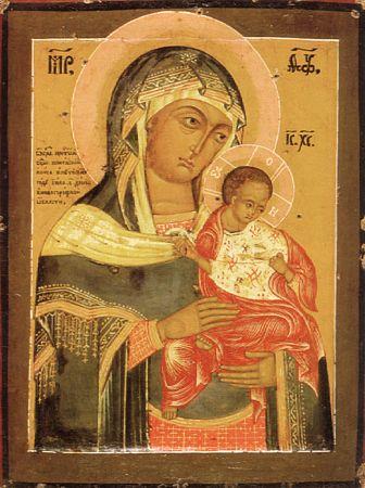 Икона Богоматери Коневская