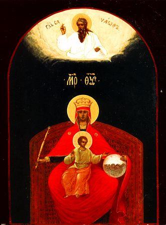 Икона Богоматери Державная