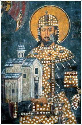 Святой Драгутин (в иночестве Феоктист) ,король Сербский, преподобный
