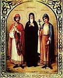 Феодор Смоленский и чада его Давид и Константин