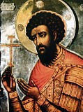 Святой Феодор Стратилат.