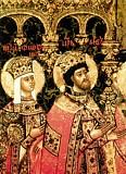 Царь Лев и царица Феофания