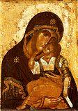 Икона Божией Матери 'Умиление'