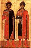Святые князья страстотерпцы Борис и Глеб.