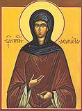 Афанасия преподобная