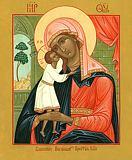 Икона Божией Матери ''Взыскание погибших''.