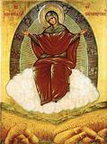Икона Божией Матери Спорительница хлебов.