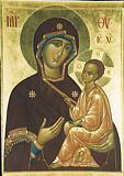 Икона Божией Матери Тихвинская.