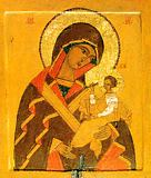Икона Божией Матери Одигитрия Шуйская.