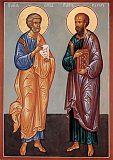 Апостолы Петр и Павел.