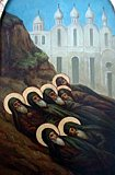 Собор преподобных отцев в Синае и Раифе избиенных