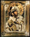 Икона Божией Матери Умиление Псково-Печерская.