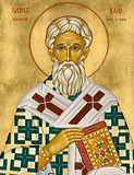 Свт. Лев, Папа Римский.