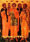 Мчч. Агапий, Пуплий, Тимолай