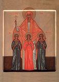 Свв. мцц. Вера, Надежда, Любовь и мать их София