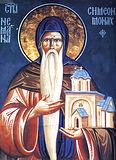 Преподобный Симеон Мироточивый