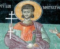 Вмч. Меркурий Кесарийский (Каппадакийский), военачальник