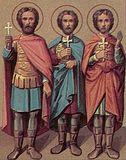 Мчч. Мануил, Савел и Исмаил.