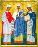 Святые девицы Минодора, Митродора и Нимфодора.