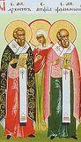 Святые апостолы от 70-ти: Архипп, Филимон и мученица равноапостольная Апфия