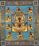 """Чудотворная икона """"Знамения"""" Божией Матери, именуемая Курская-Коренная."""