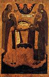 Преподобные Зосима и Савватий, Иоанн Большой Колпак, Илия Пророк.